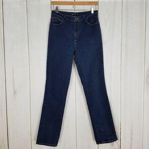 Lee High-rise Mom Waist Tall Straight Leg Jeans
